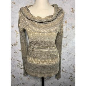 Free People Cowl Neck Sweater Size Extra Small